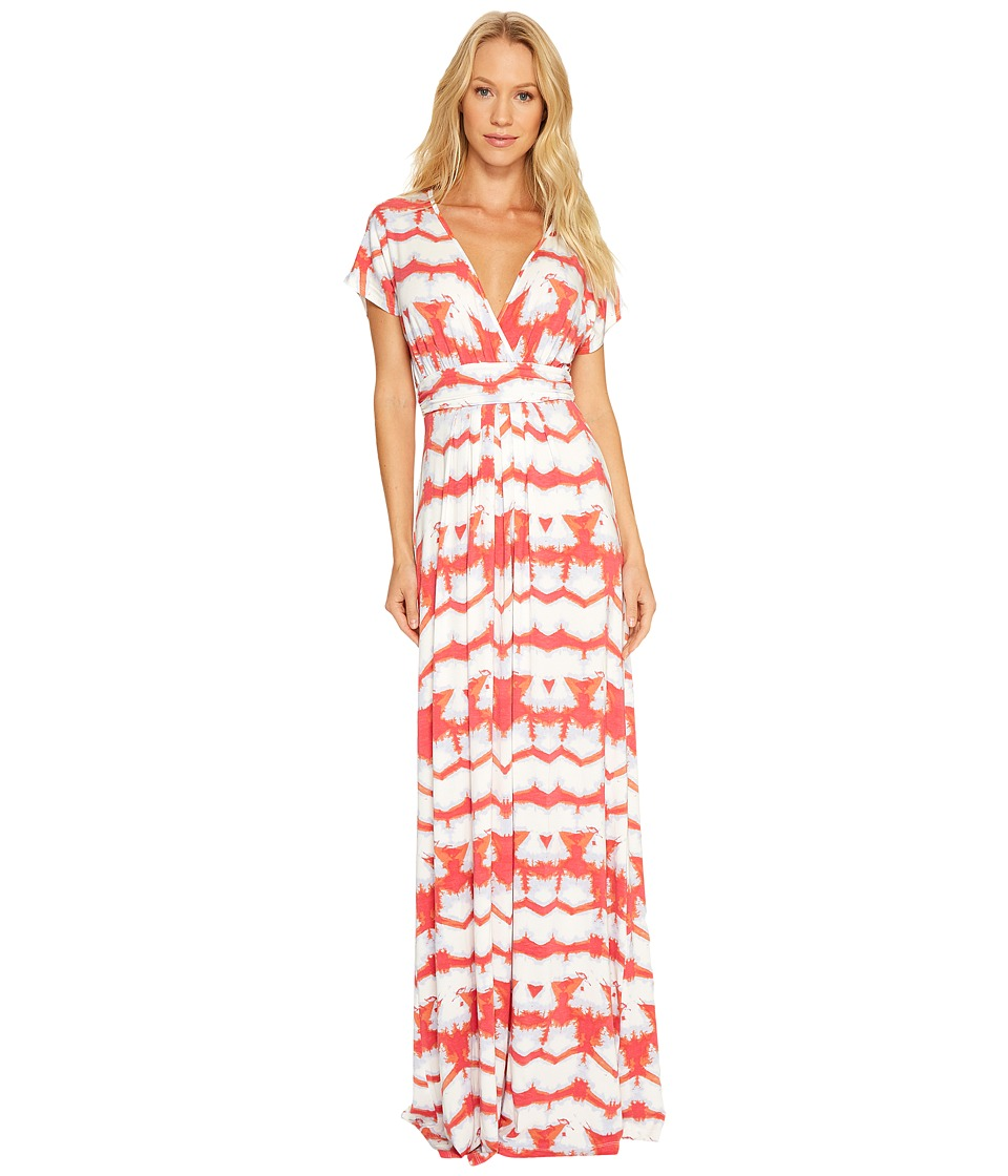 Tart - Cleo Maxi (Multi Tie-Dye Stripe) Women's Dress