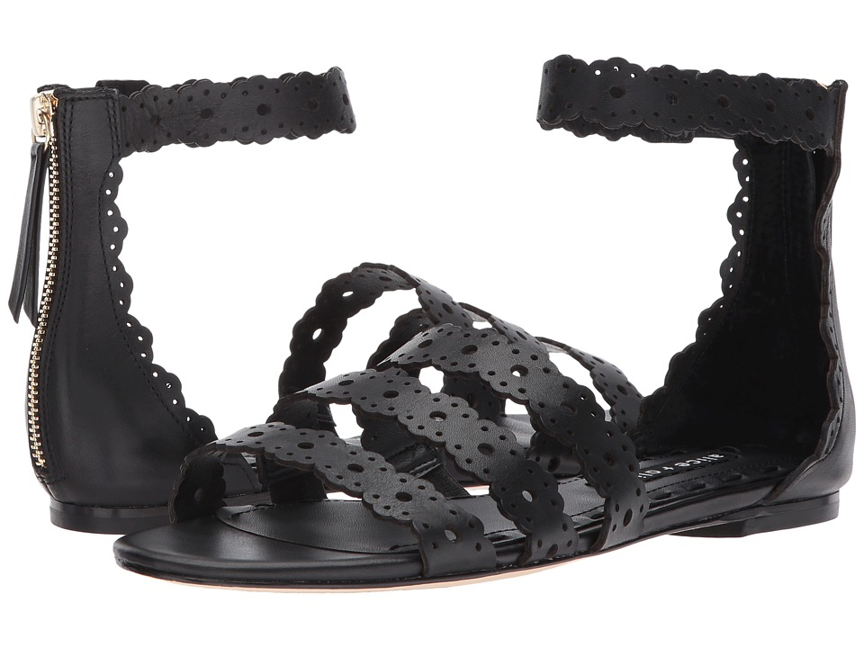 Alice + Olivia - Penny (Black) Women's Sandals