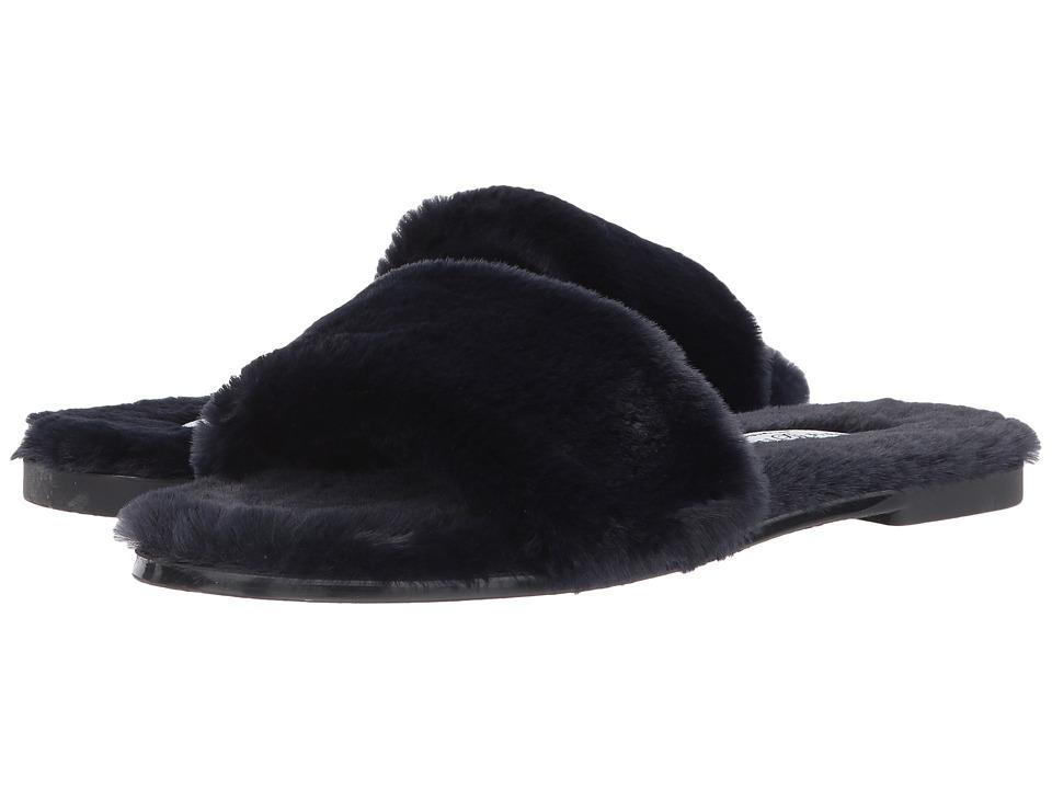 Chinese Laundry Mulholland Sandal (Navy Fur) Women