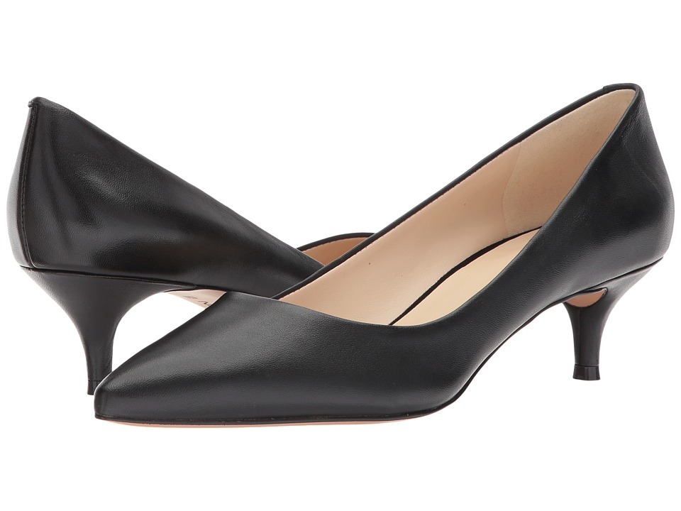 Nine West - Illumie (Black Leather 2) Women's 1-2 inch heel Shoes