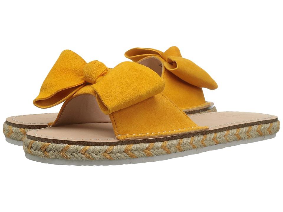 Kate Spade New York - Idalah (Tumeric Yellow Kid Suede) Women's Shoes