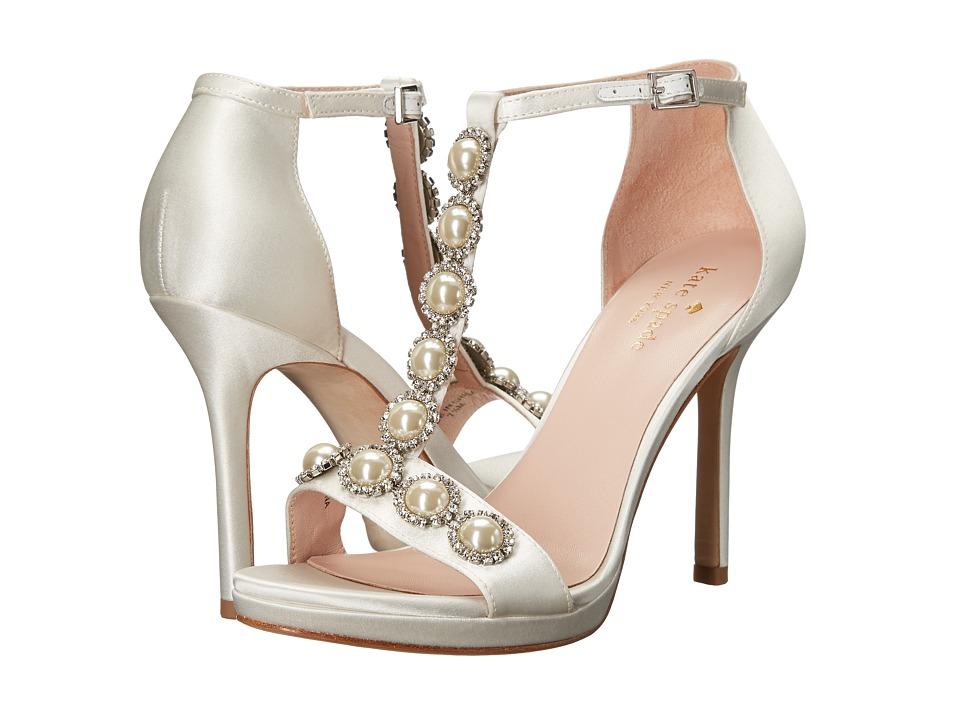 Kate Spade New York - Freya (Ivory Satin) Women's Shoes