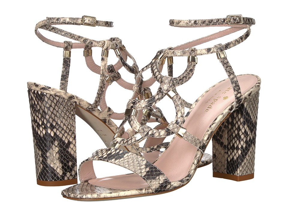 Kate Spade New York Irving Natural Roccia Snake Printed Leather Shoes