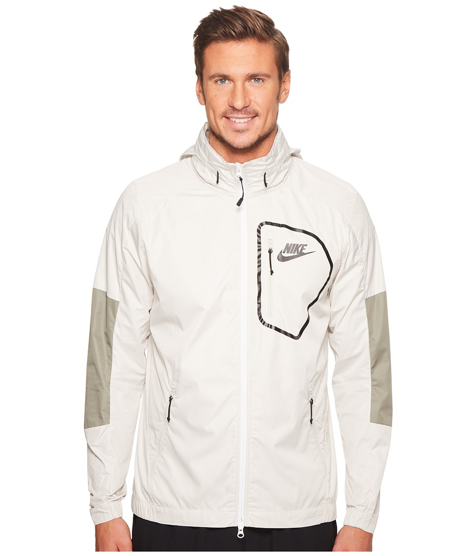 Nike Sportswear Advance 15 Jacket (Light Bone/Dark Stucco/Black/Black) Men