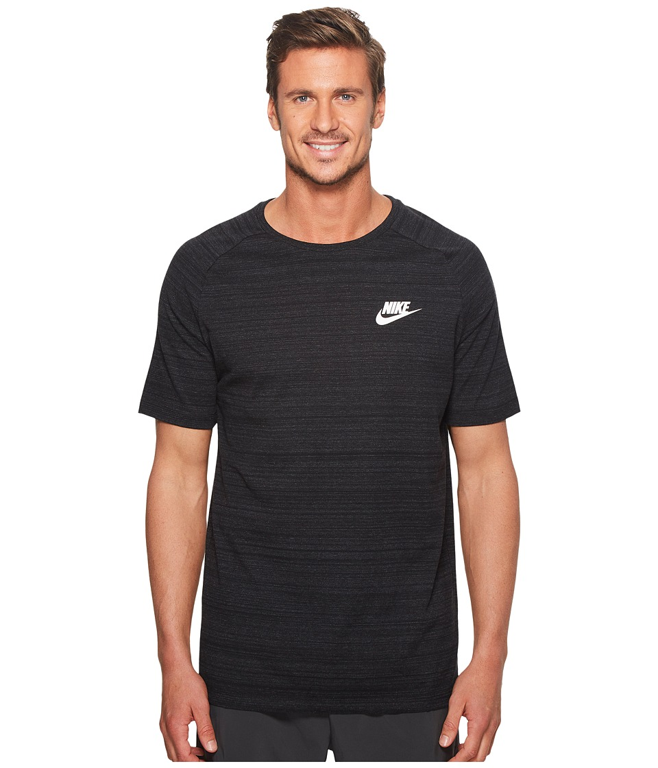 Nike Sportswear Advance 15 Top (Black/Heather/White) Men