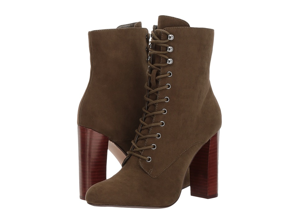 Steve Madden - Essie (Olive) Women's Dress Pull-on Boots