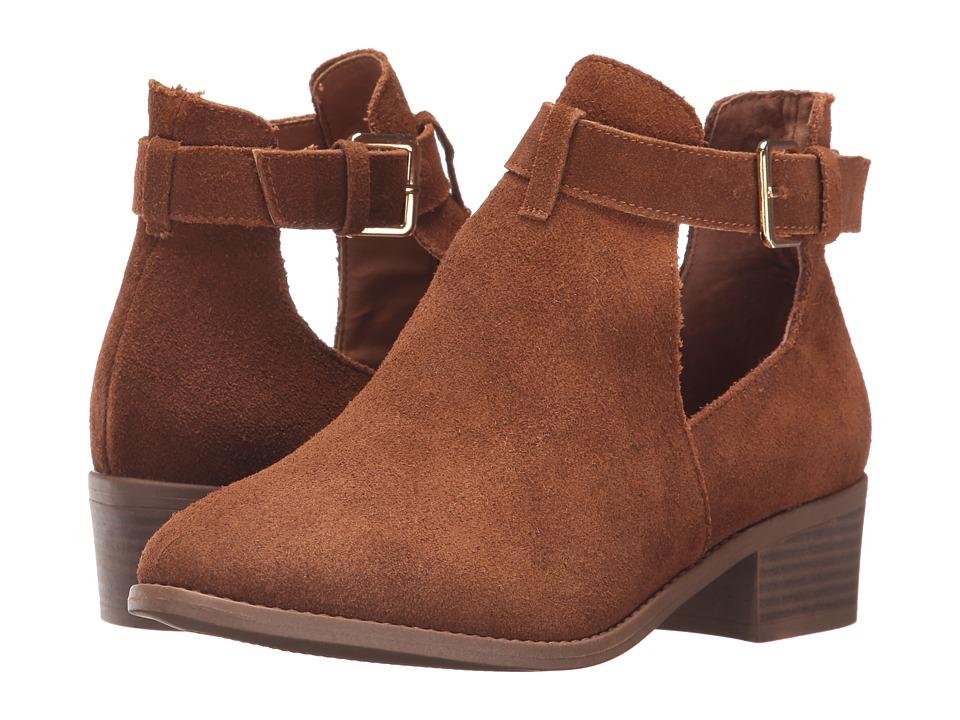 Steve Madden Duncan Cognac Boots