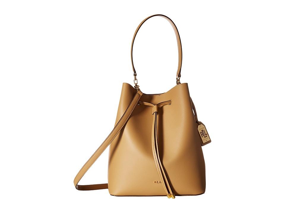 LAUREN Ralph Lauren - Dryden Debby Drawstring Medium (Palomino) Drawstring Handbags
