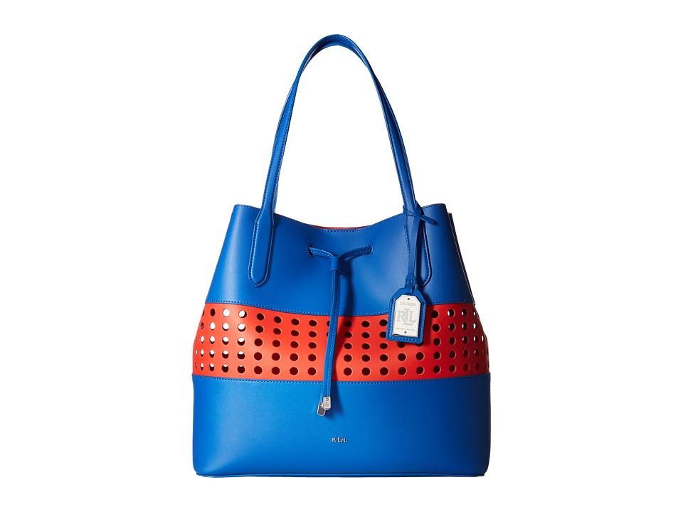 LAUREN Ralph Lauren - Dryden Diana Tote Medium (Snorkl/Fie) Tote Handbags