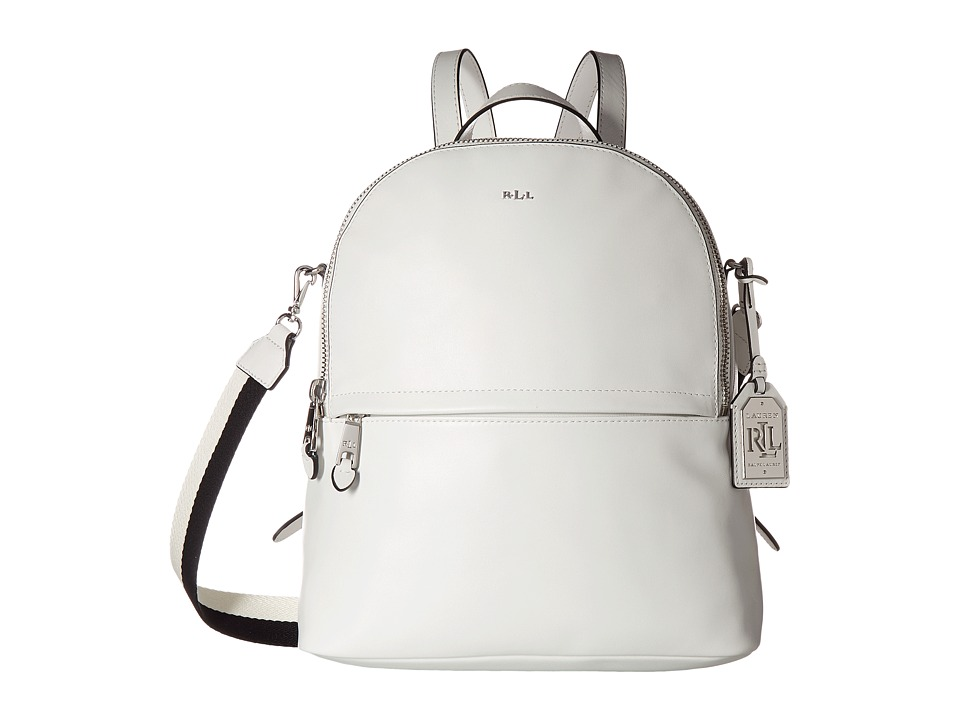 LAUREN Ralph Lauren - Halsbury Tami Backpack Medium (Eggshell) Backpack Bags