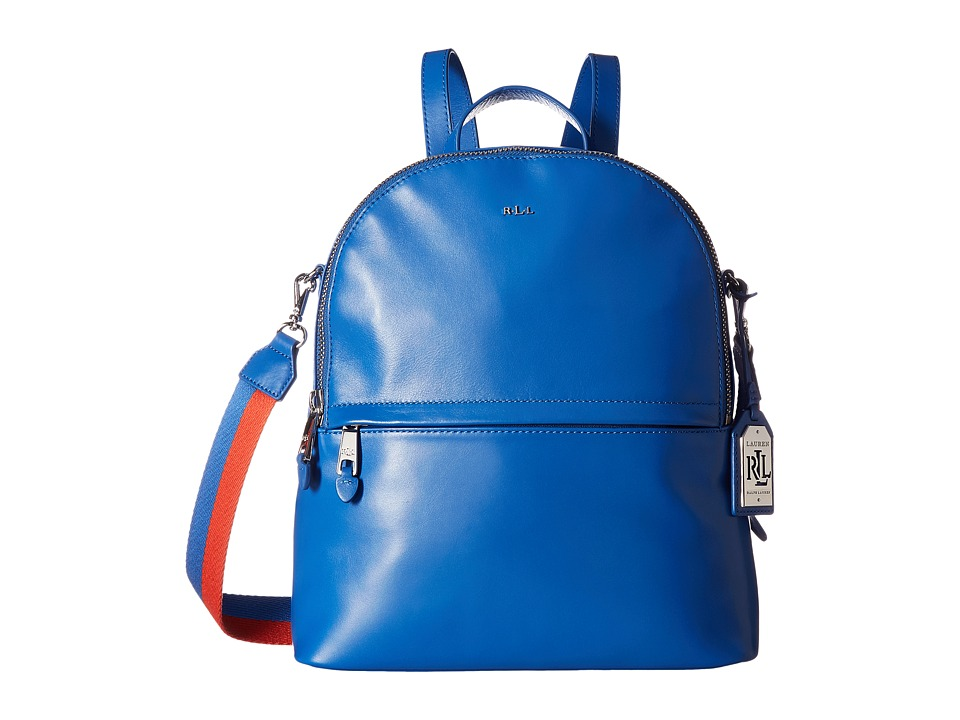 LAUREN Ralph Lauren - Halsbury Tami Backpack Medium (Snorkel Blue) Backpack Bags