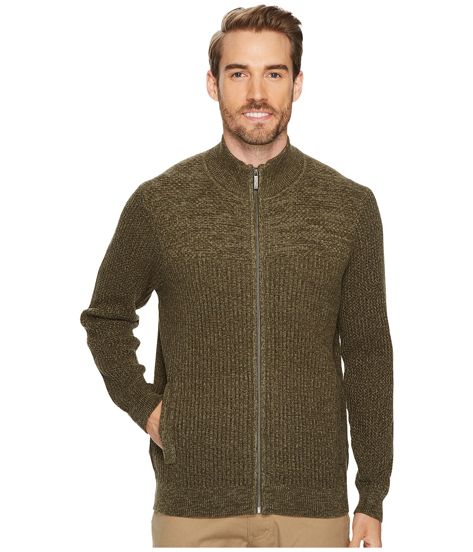 Tommy Bahama Medina Marl Full Zip (Tapenade) Men