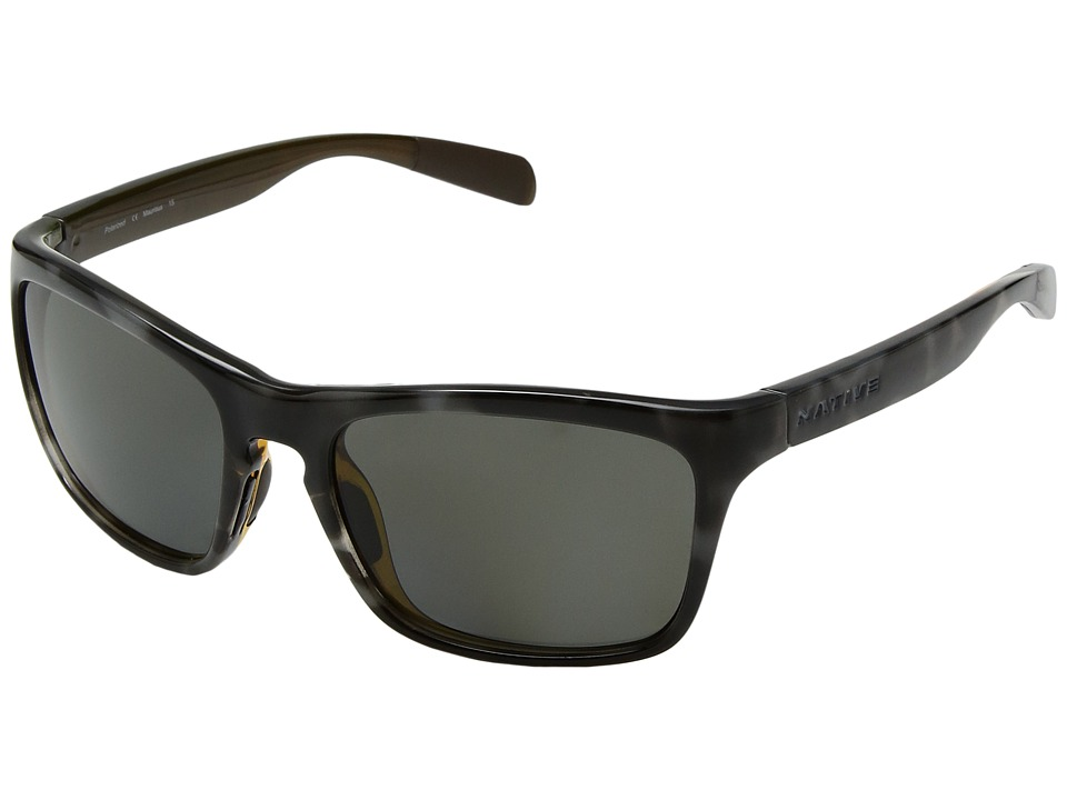 Native Eyewear - Penrose (Obsidian/Dark Grey) Sport Sunglasses