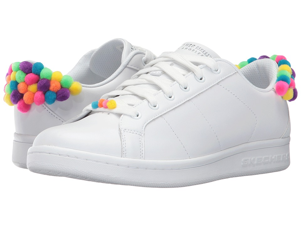 SKECHERS Street - Omne - Gum Balls (White Multi) Women's Shoes