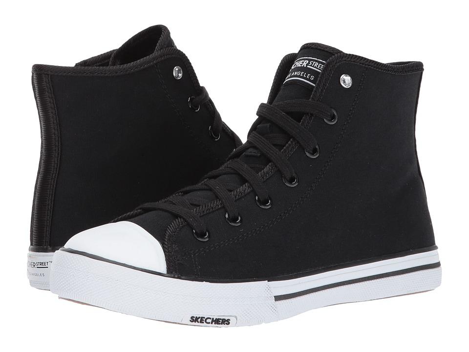SKECHERS Street - Utopia - Jet Set (Black) Women's Shoes