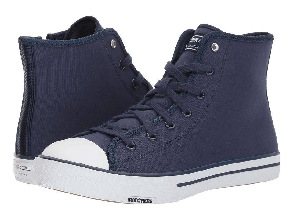 SKECHERS Street - Utopia - Jet Set (Navy) Women's Shoes