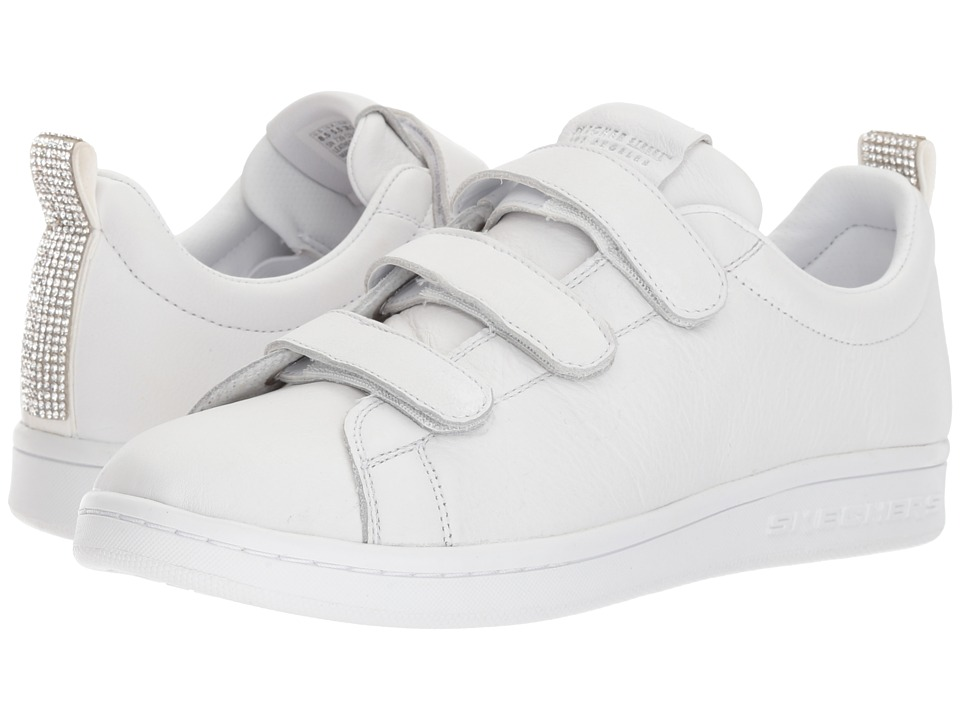 SKECHERS Street - Omne - Bling It Back (White) Women's Shoes
