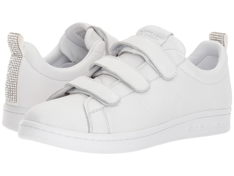 SKECHERS Street - Omne - Bling It Back (White) Women's Shoes