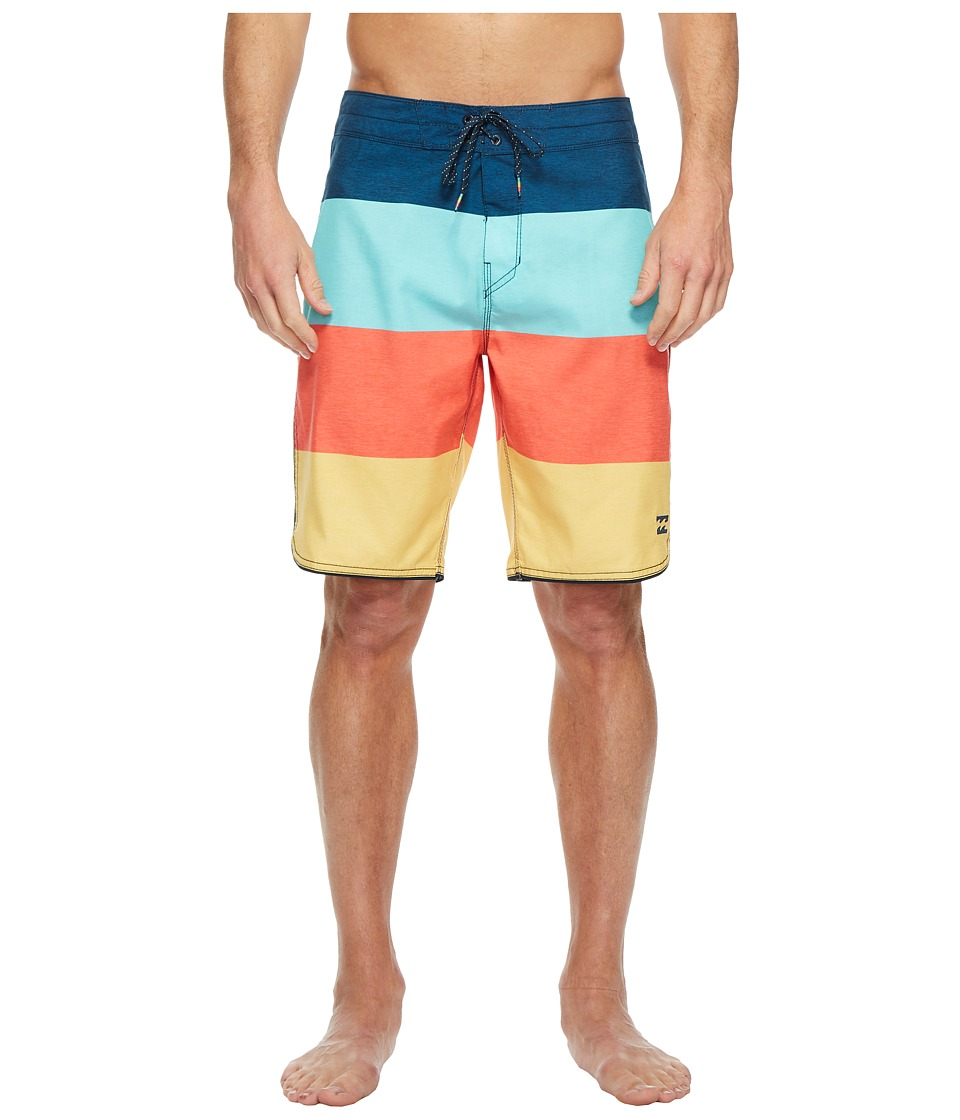 Billabong 73 OG Stripe Boardshorts (Orange) Men