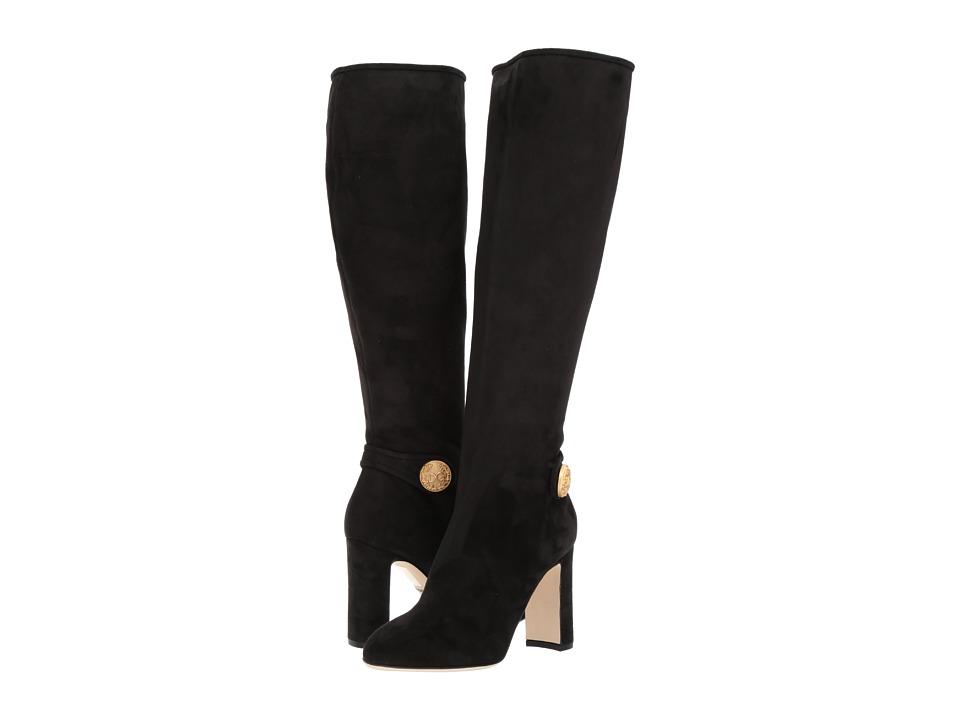 Dolce & Gabbana TTK Boot with Side Button (Black) Women