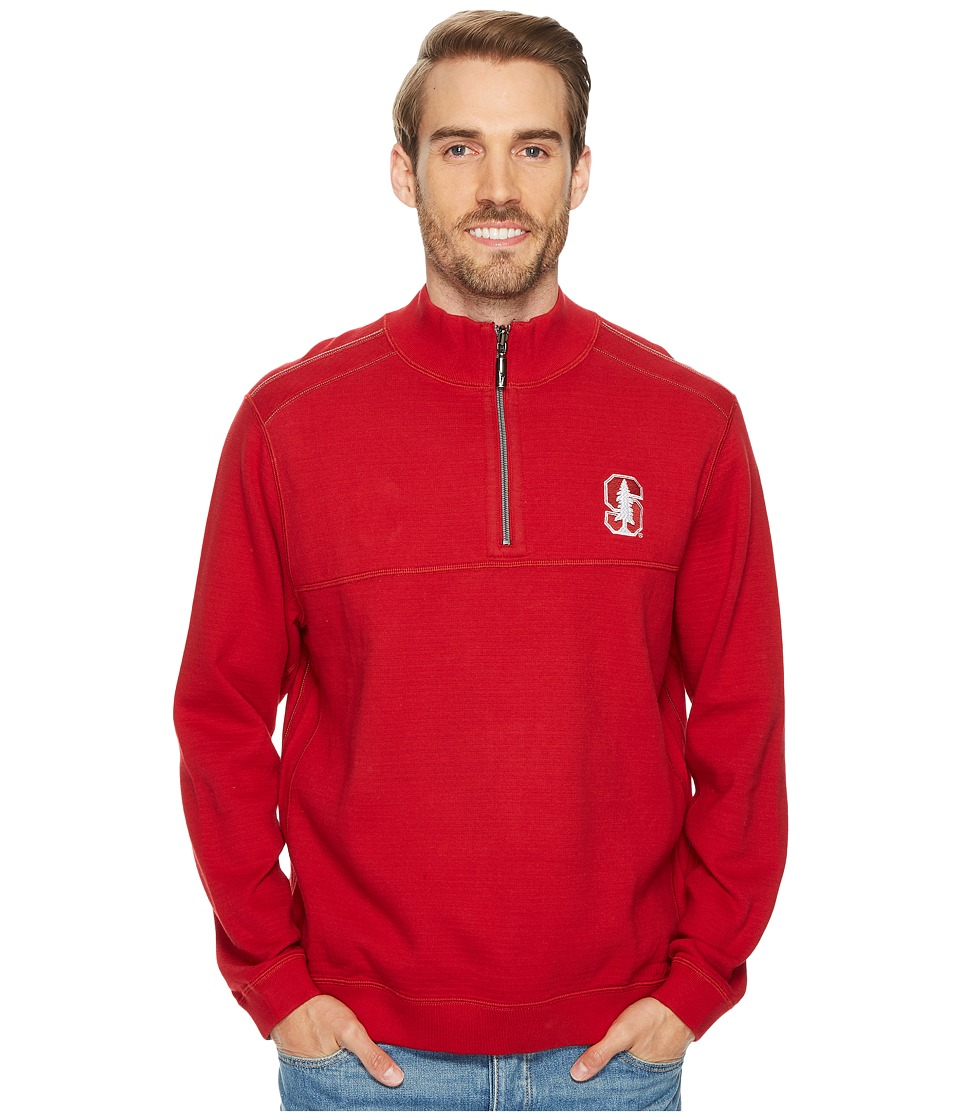 Tommy Bahama Stanford Cardinal Collegiate Campus Flip Sweater (Stanford University) Men