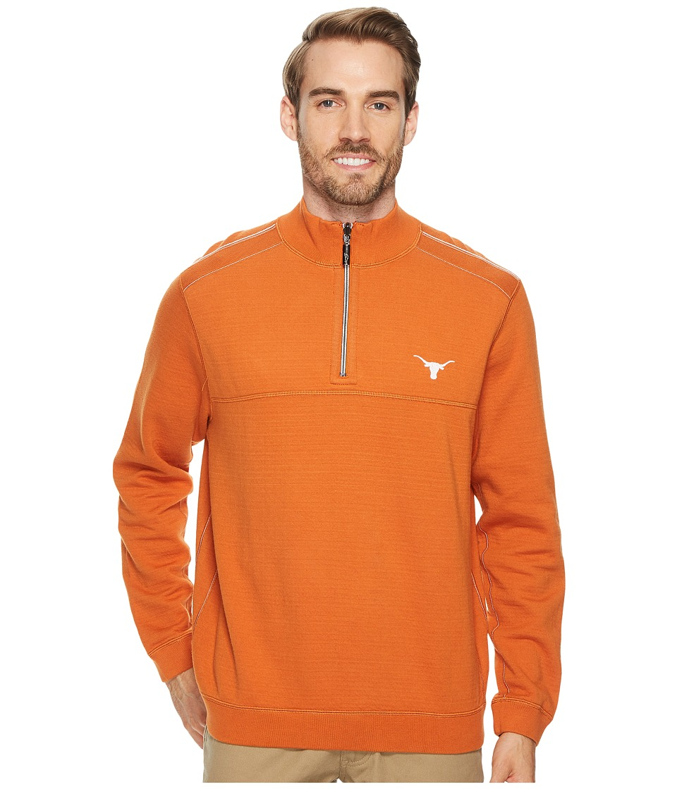 Tommy Bahama Texas Longhorns Collegiate Campus Flip Sweater (University Of Texas) Men