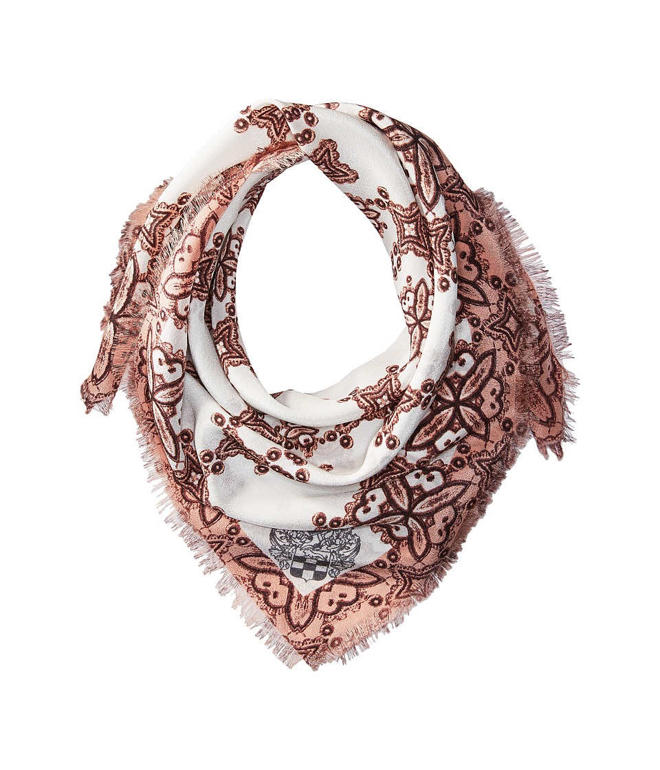Vince Camuto - Crochet Day Bandana (Peach) Scarves
