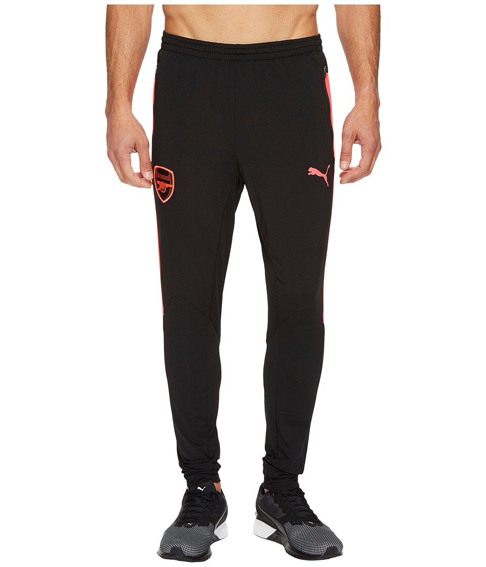 PUMA - AFC Training Pants (Puma Black/Bright Plasma) Men's Workout