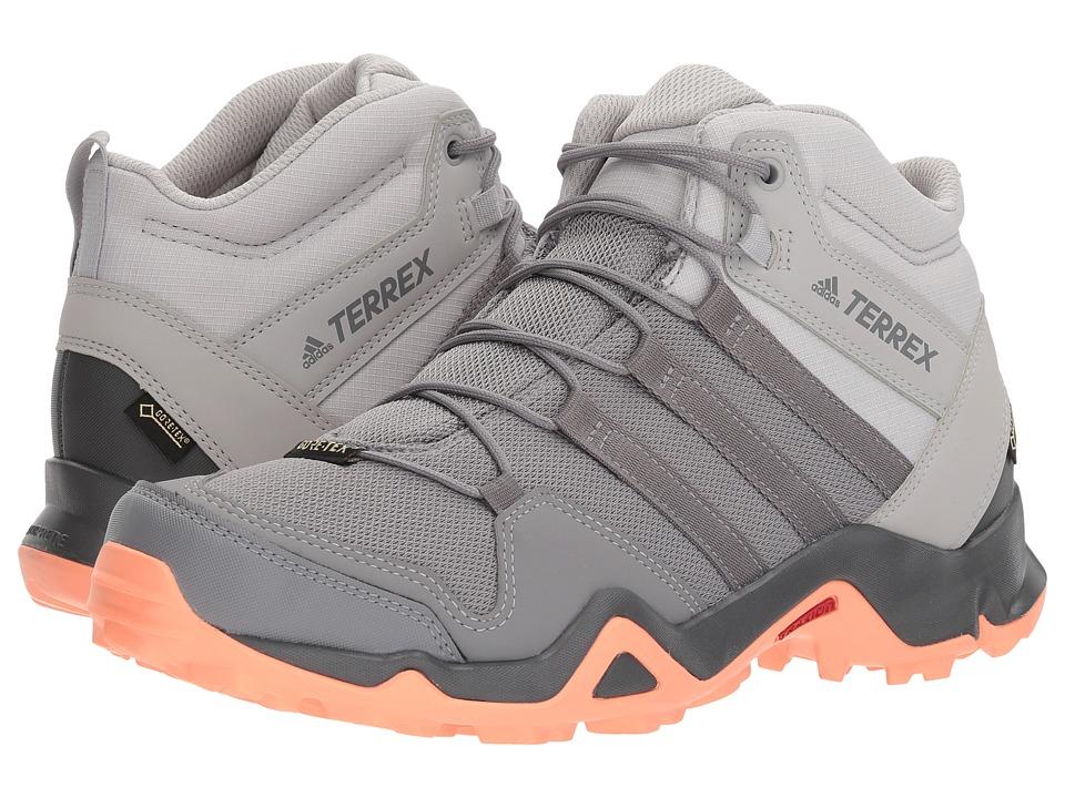 adidas Outdoor Terrex AX2R Mid GTX (Grey Two/Grey Three/Chalk Coral) Women