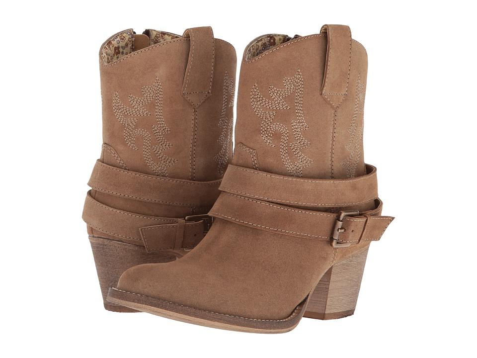 Dingo Avondale (Light Tan) Cowboy Boots