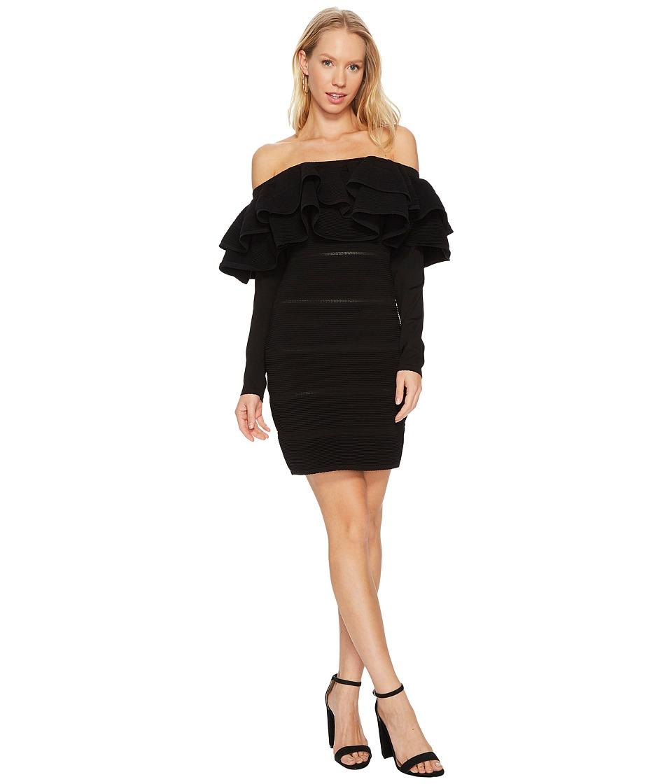 KEEPSAKE THE LABEL Over Time Knit Dress (Black) Women
