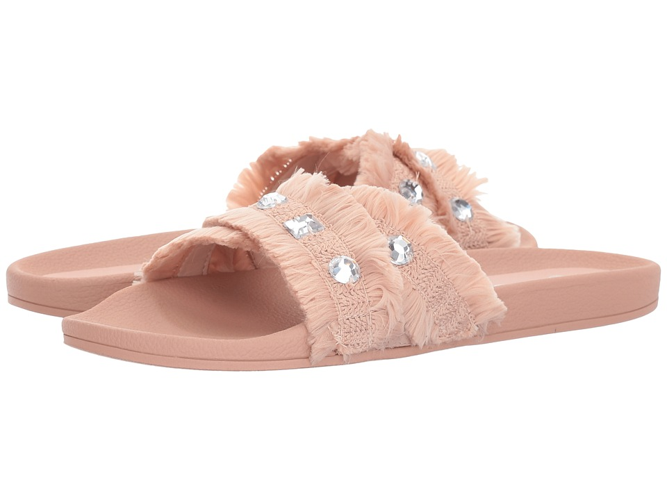 Jessica Simpson - Playah (Nude Blush Cotton Weave) Women's Sandals