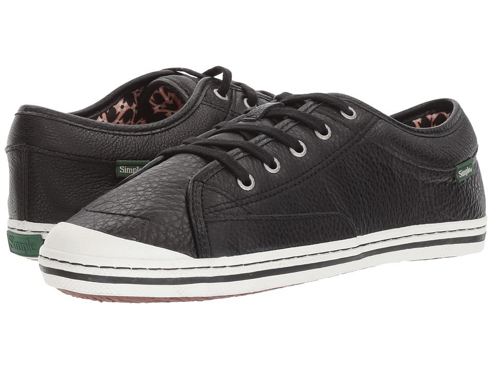 Simple - Satire-L (Black) Women's Shoes
