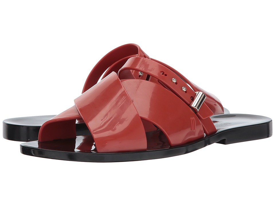 Melissa Shoes - Diane + Jason Wu (Red/Black) Women's Shoes