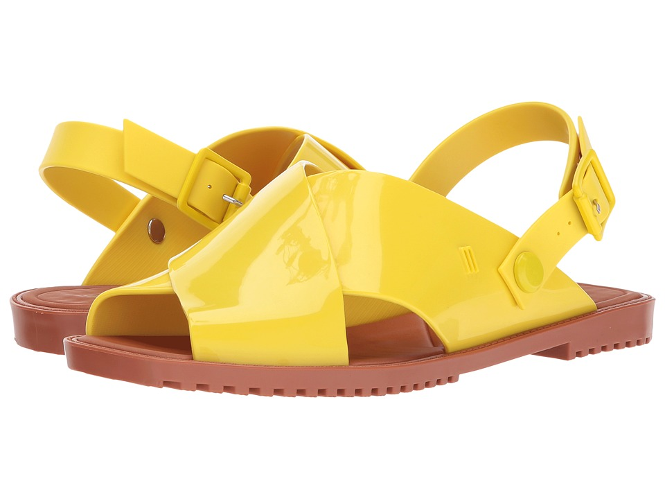 Melissa Shoes Sauce Sandal (Yellow/Brown) Women
