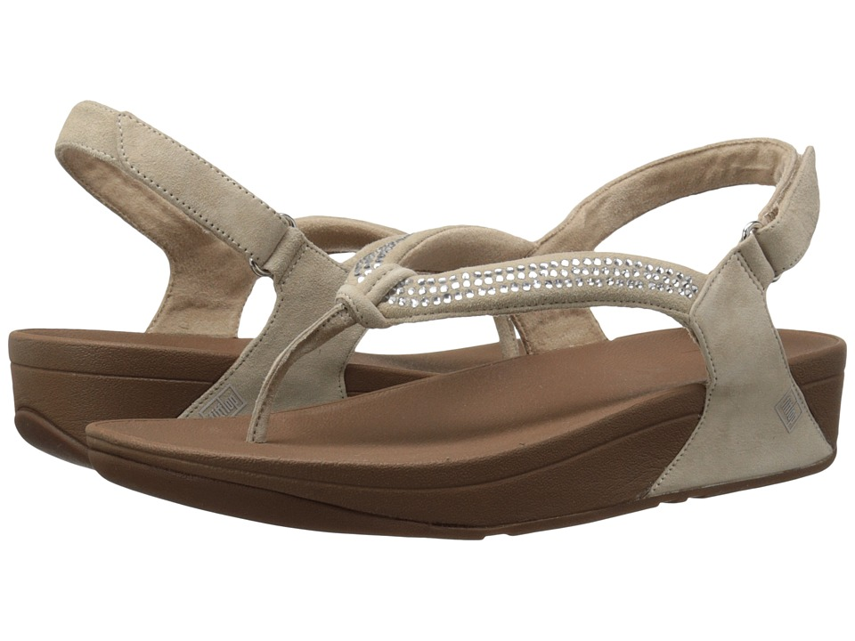 FitFlop - Crystal Swirl Sandal (Nude) Women's Sandals