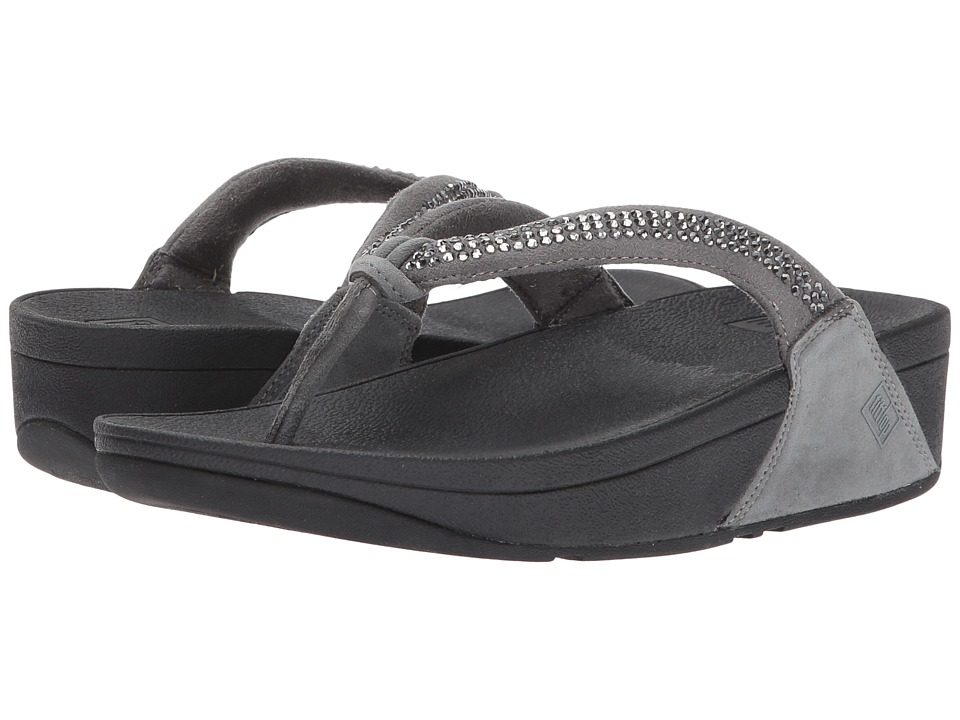FitFlop - Crystal Swirl (Pewter) Women's Sandals