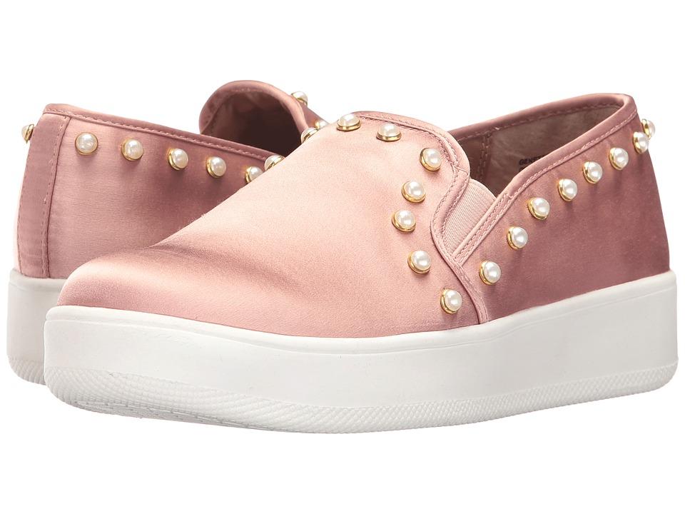 Steve Madden - Genette-P (Blush Satin) Women's Slip on Shoes
