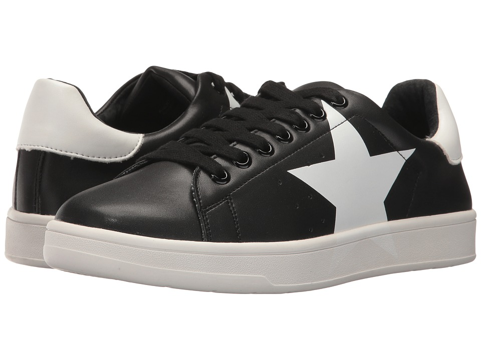 Steve Madden - Rhode (Black/White) Women's Lace up casual Shoes