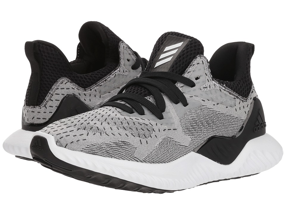 adidas Kids Alphabounce (Big Kid) (White/Black) Kids Shoes