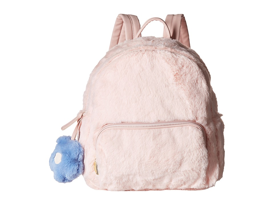 Luv Betsey - Emma Plush Backpack (Blush) Backpack Bags