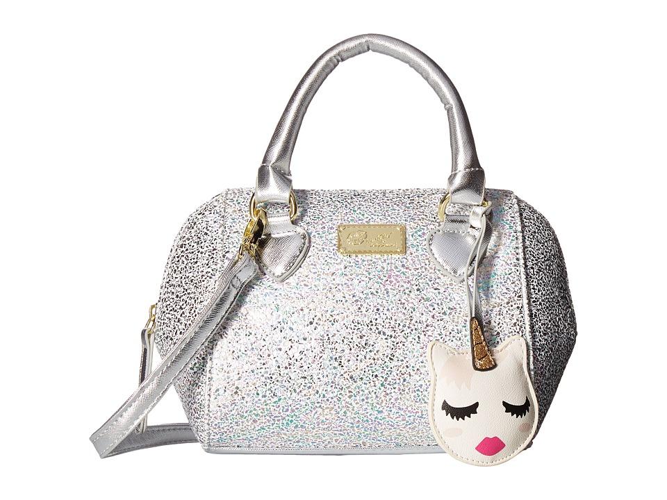 Luv Betsey - Cora PVC Crossbody (Silver) Cross Body Handbags