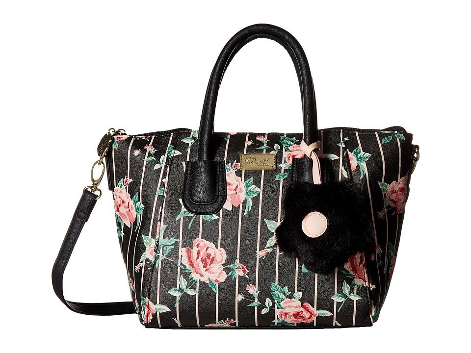 Luv Betsey - Gigi Core PVC Satchel (Rose) Satchel Handbags