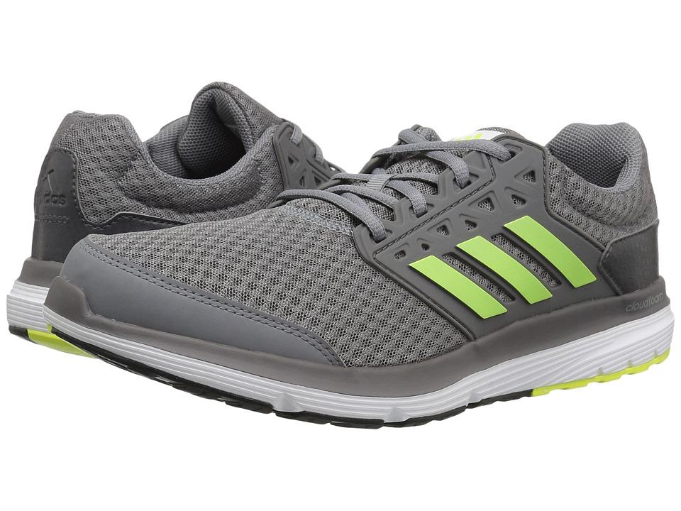 adidas Galaxy 3 (Grey/Solar Yellow/Dark Grey) Men