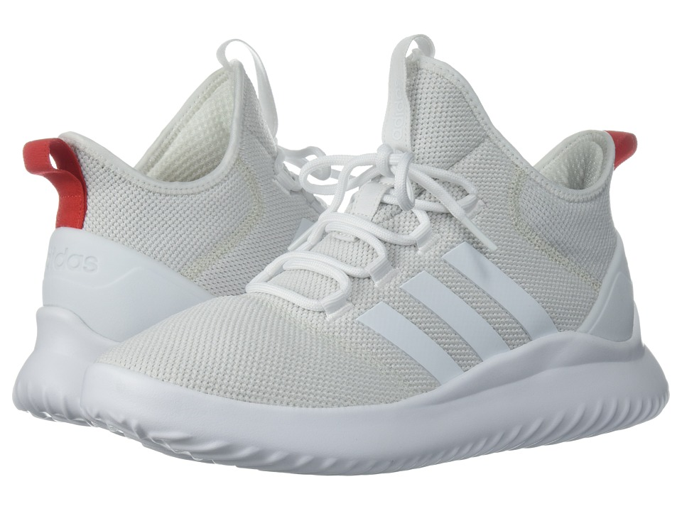 adidas Cloudfoam Ultimate Basketball (White/White/Red) Men
