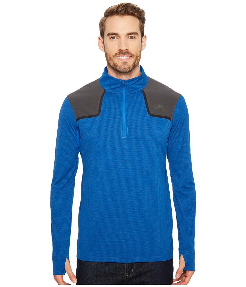 The North Face Kilowatt 1/4 Zip (Turkish Sea Heather) Men