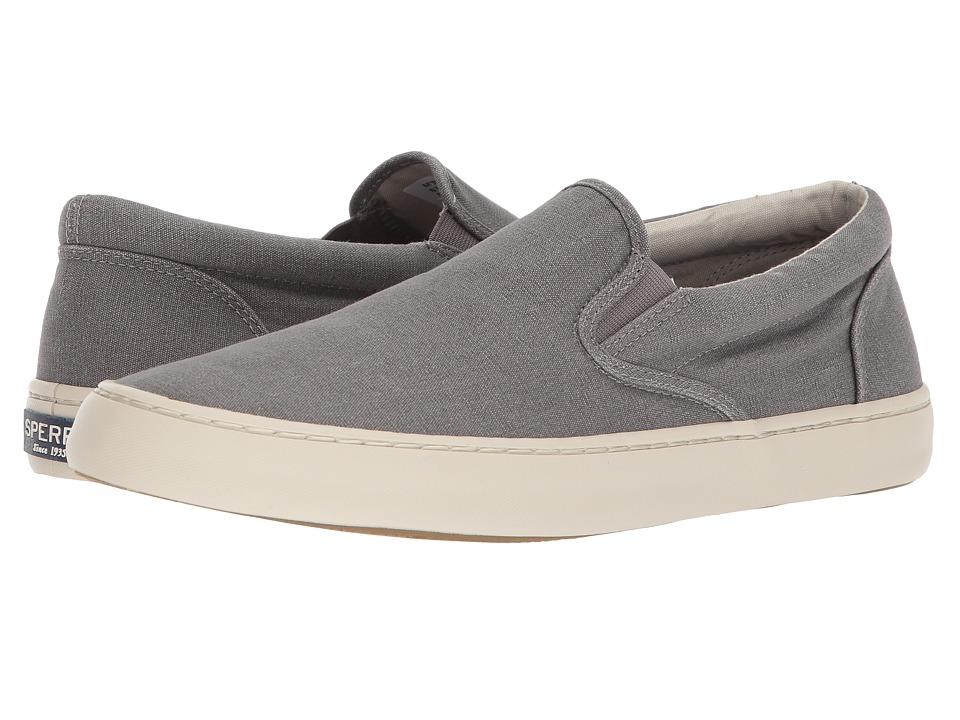 Sperry Cutter Slip-On (Saltwash Grey) Men