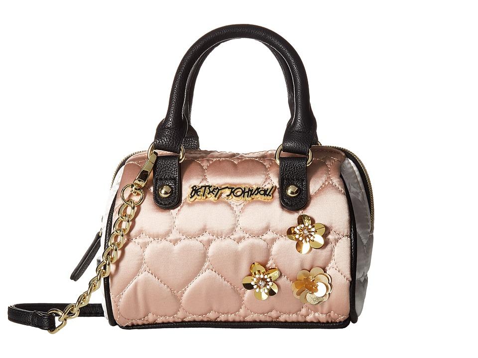 Betsey Johnson - Mini Satchel Crossbody (Sand) Cross Body Handbags