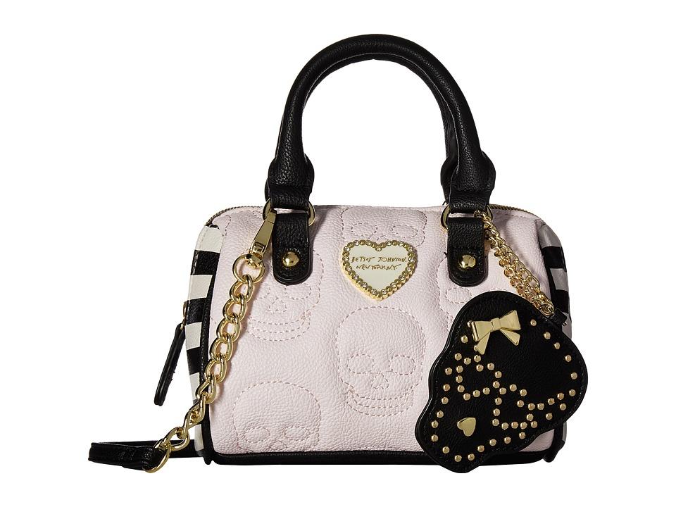 Betsey Johnson - Mini Satchel Crossbody (Grey Multi) Cross Body Handbags