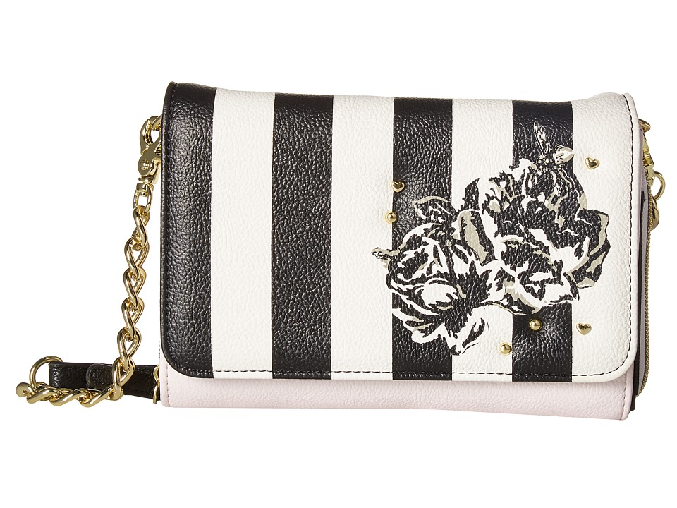 Betsey Johnson - Bow Crossbody (Stripe) Cross Body Handbags